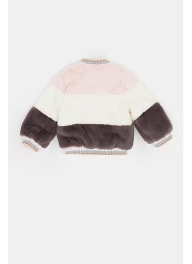 BG Baby Kız Bebek Renkli Kürk 20Fw0Bg2712 Renkli